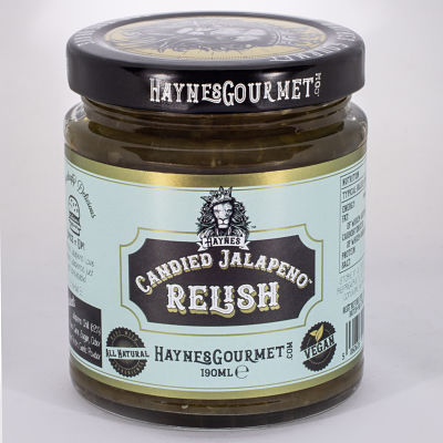 Spreadable Candied Jalapenos